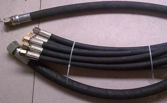 钢丝液压液压油管接头